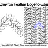 Chevron Feather