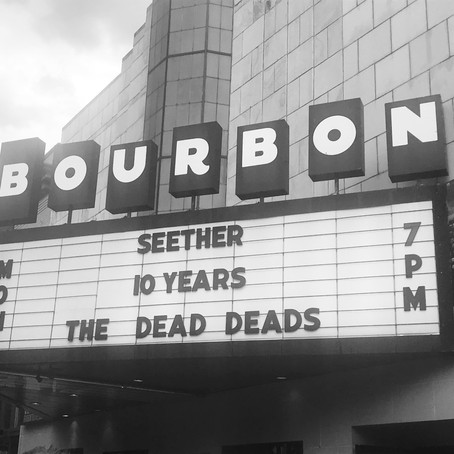 Seether, 10 Years, & The Dead Deads Pack the Bourbon Theatre