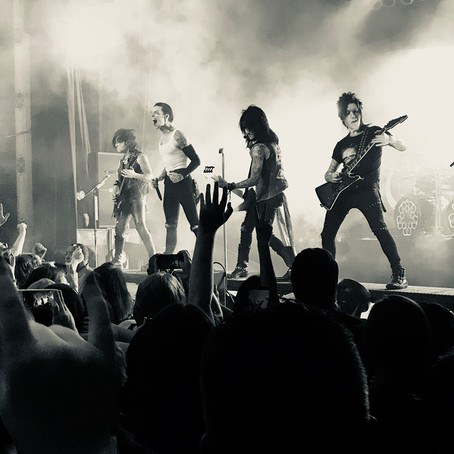 Black Veil Brides and Asking Alexandria Team Up for Mayhem at Sokol