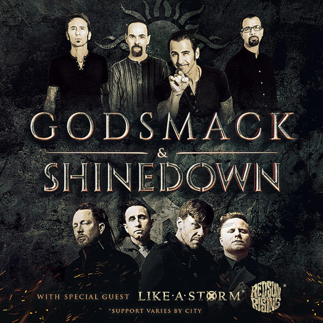 Godsmack Announces Co-Headlining Tour with Shinedown