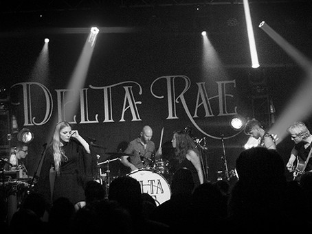 Delta Rae and Frances Cone on the Take Me There Tour