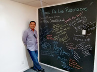Mural de los recuerdos para Mario Castañeda