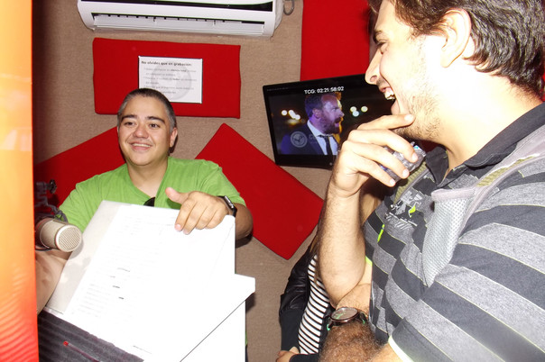 Lalo Garza en Atril
