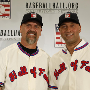 Derek Jeter and Larry Walker Inducted into the Hall of Fame..but Who's Missing?