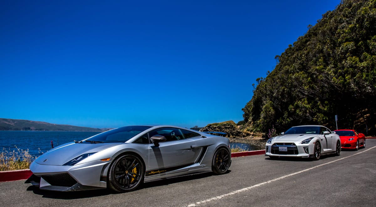 Exotic Car Drives & Tours - Napa