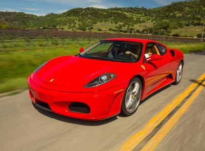 Drive a Ferrari in Napa