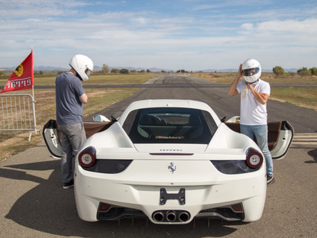 Exotic Car Airstrip Challenge - The #1 Adrenaline-Filled Corporate Team Building Experience
