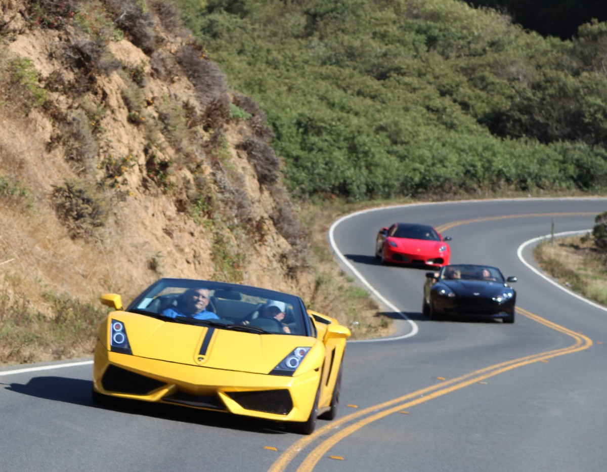 Napa Exotic Car Rentals and Tours