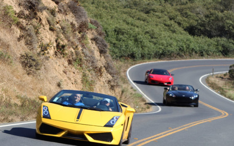 Napa Exotic Car Rentals and Tours