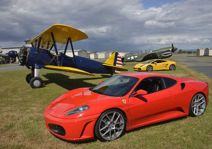 Exotic Car Airstrip Challenge
