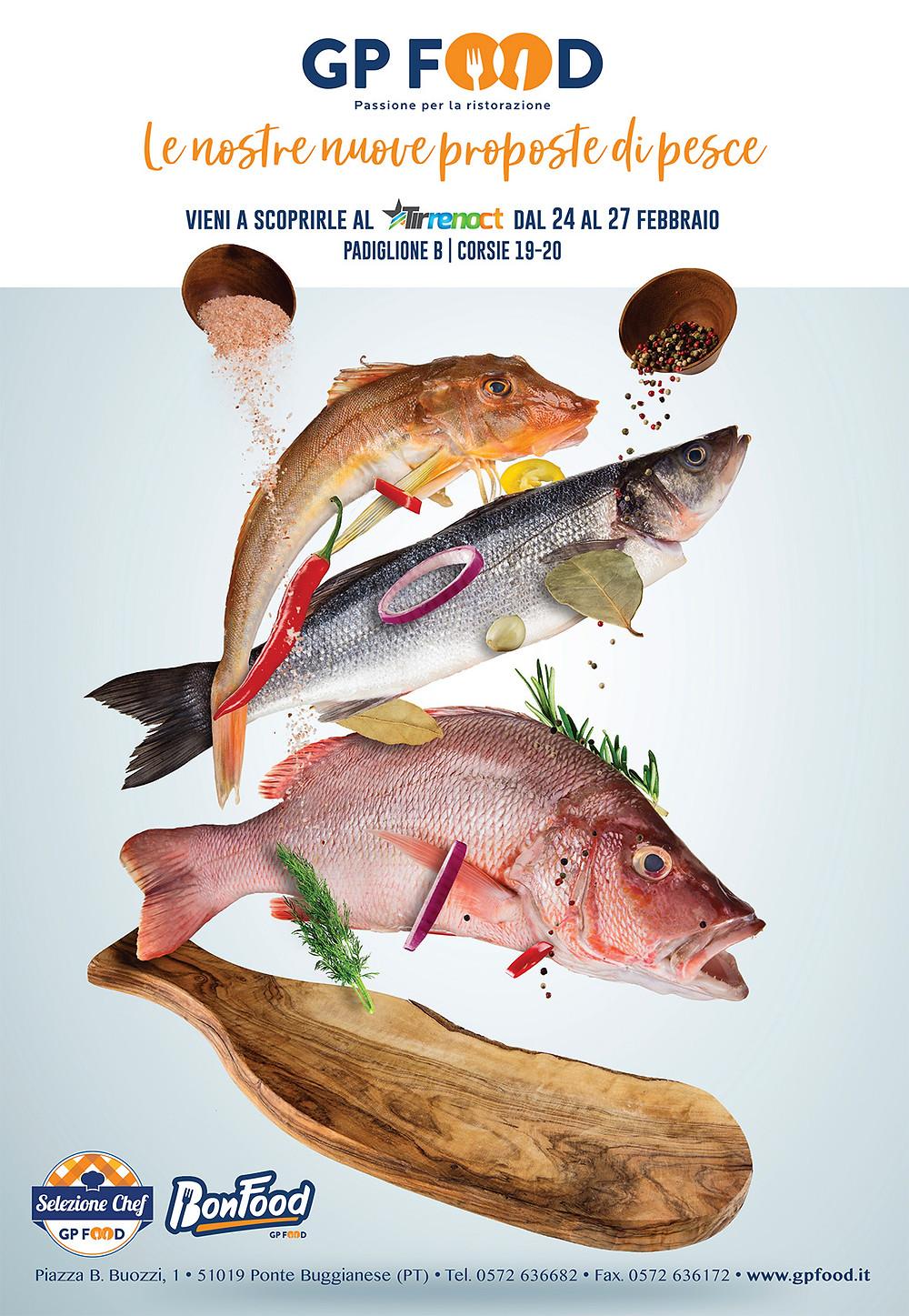 Le nostre NUOVE proposte di pesce presso Tirreno CT - 2019  dal 24 al 27 febbraio.