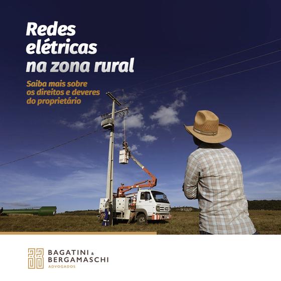 Redes elétricas na zona rural