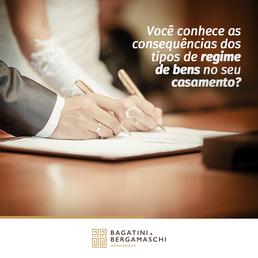 Você conhece as consequências dos tipos de regime de bens no seu casamento?