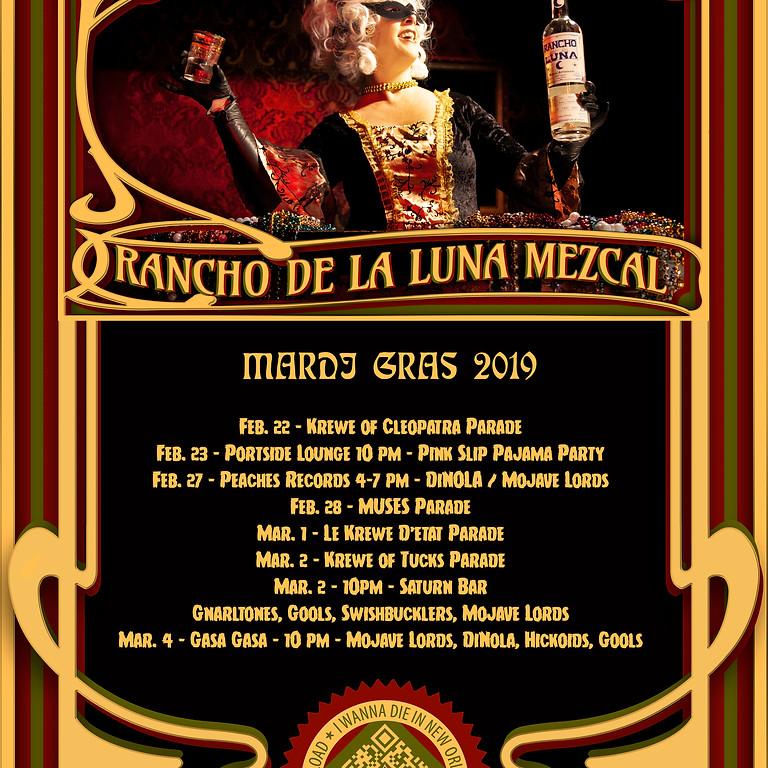 Mardi Gras with Rancho de La Luna Mezcal