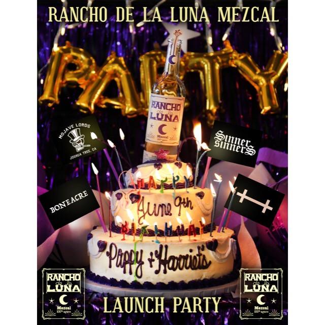 Rancho De La Luna Mezcal Launch Party