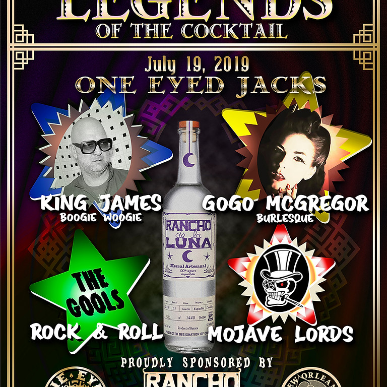 Legends Of The Cocktail - New Orleans - 2019