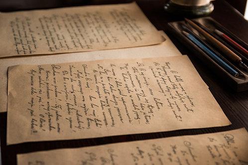 Handwritten Letter for Him