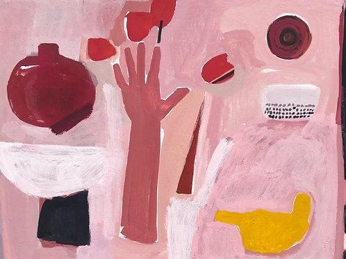Nancy Gruskin, Tulips as Big as My Hand #8