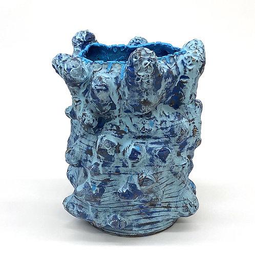 Vince Palacios, Blue on Blue Vessel