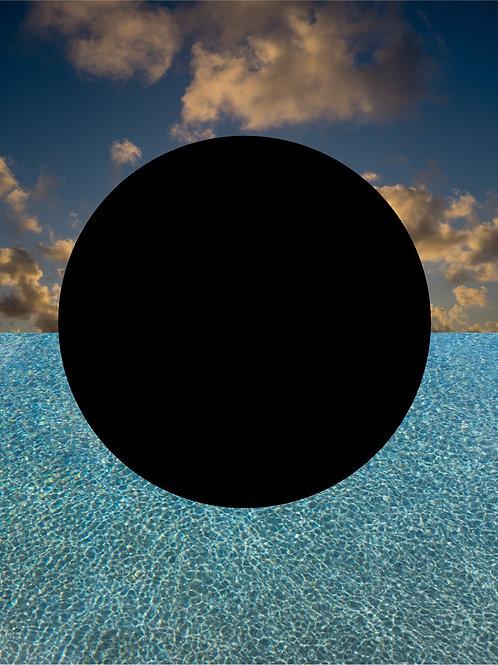 ALYSIA MACAULAY, Black Circle (Postive)