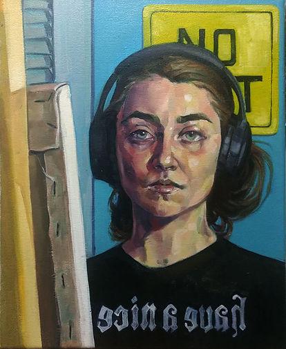 Rose Keeffe, 2020 self portrait