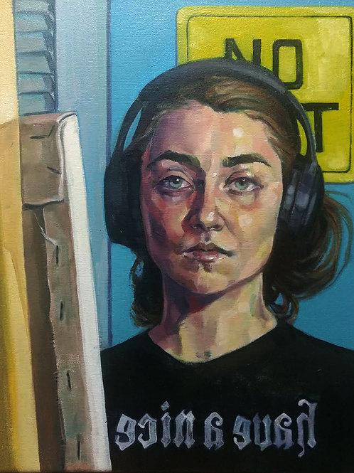 ROSE KEEFFE, Self Portrait