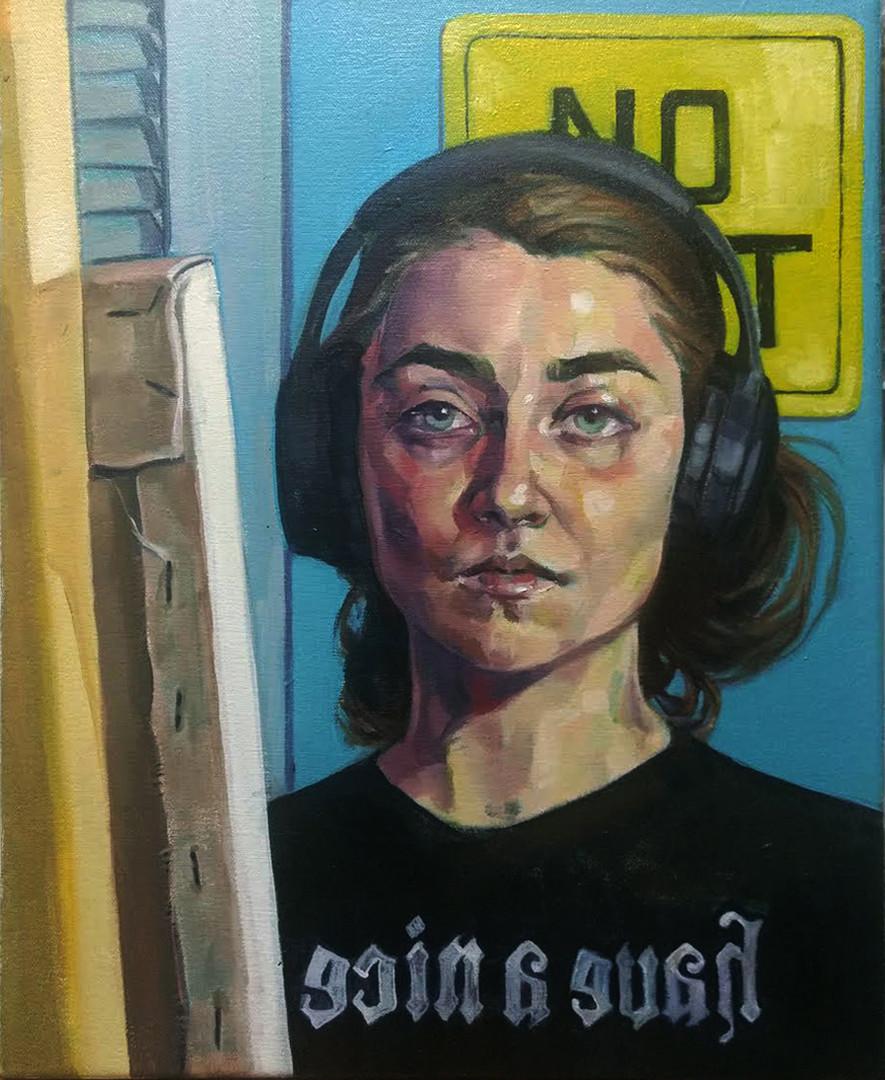 Rose Keeffe: Self Portrait