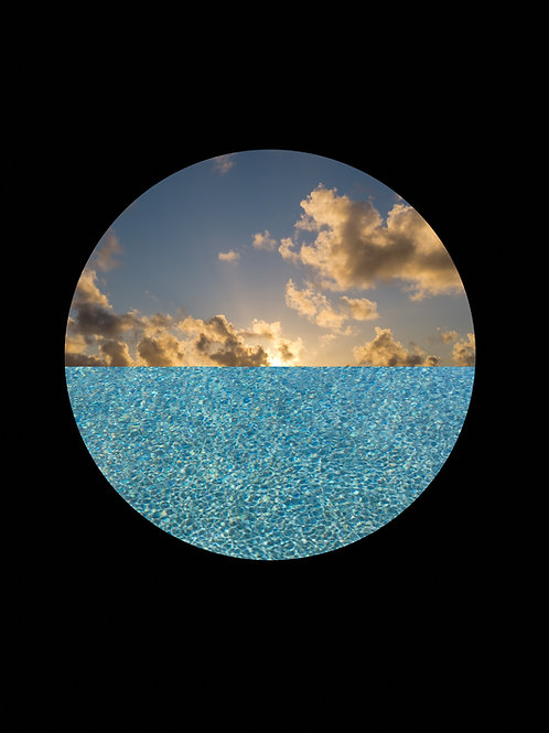 ALYSIA MACAULAY, Black Circle (Negative)