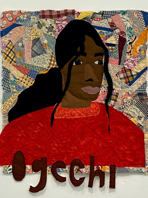 Michael Thorpe, Ogechi, quilting, textile art