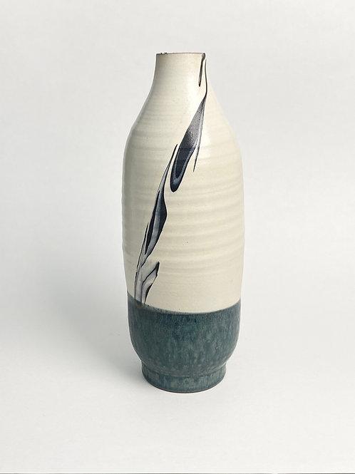 Kondo Yutaka, Blue and White Bottle 1960s