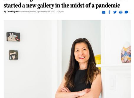 Boston Globe's Cate McQuaid talks to LaiSun Keane and some Augmented Reality