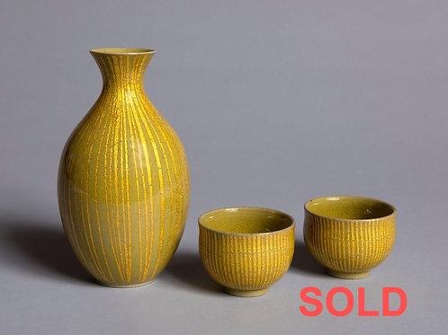 ONO HAKUKO (1915-1996), Porcelain Sake