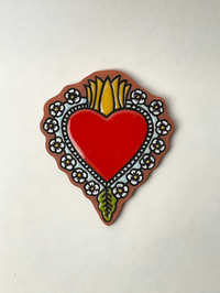 Milagro Heart Tile, 2021
