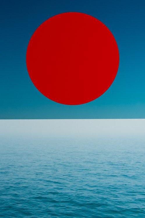 ALYSIA MACAULAY, Red Circle Above The Sea