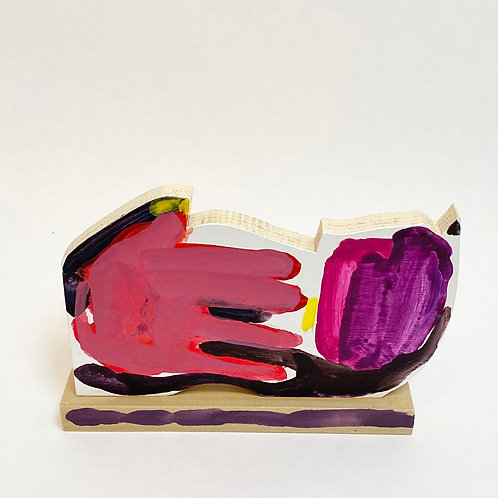 NANCY GRUSKIN, Tulips As Big As My Hand Cut-Out #1