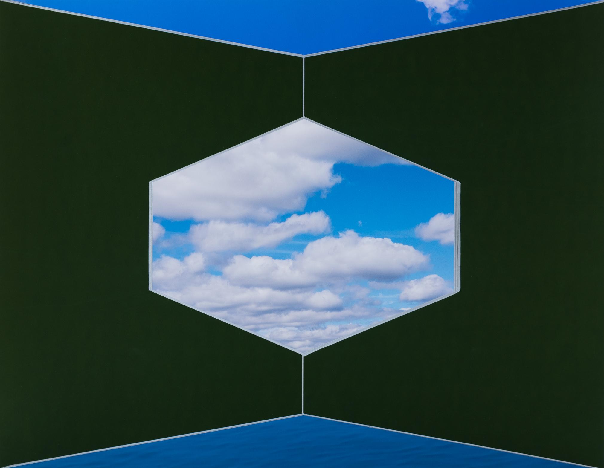 Moss Green Corner Sky