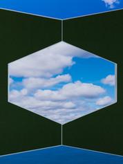 Moss Green Corner Sky, 2020