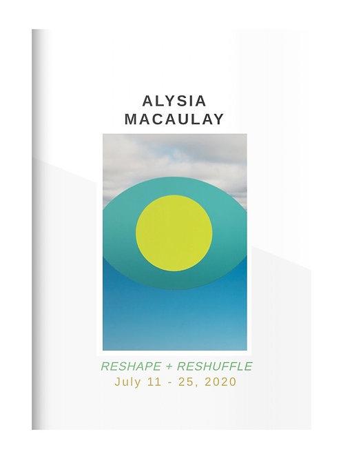 Exhibition Catalog: Alysia Macaulay