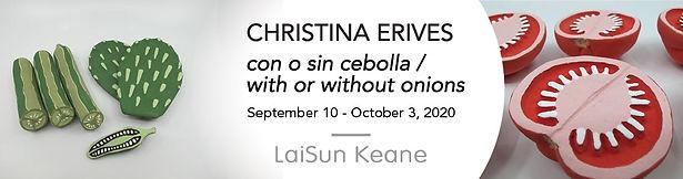 Chrisitina Erives Show banner