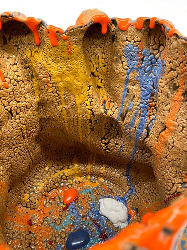 Orange and Blue No1027