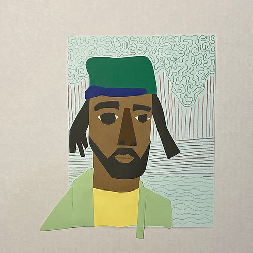 MICHAEL THORPE, Untitled (Self-portrait)