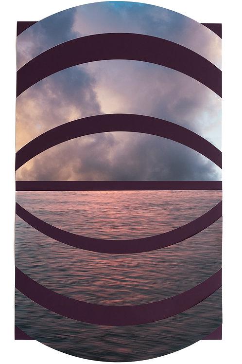 ALYSIA MACAULAY, Aubergine Sea and Sky