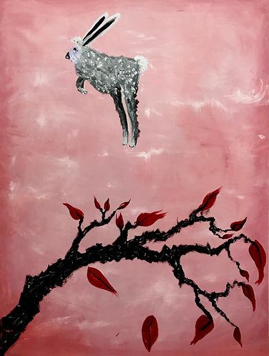 Bunny Hopper, oil on canvas, 48_ x 36_, 2019.jpg