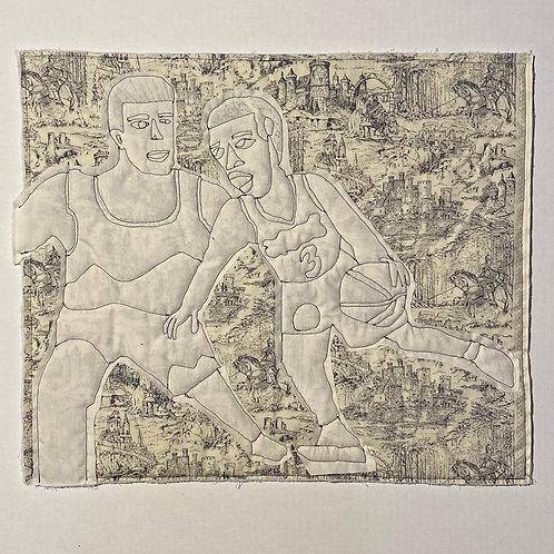 Michael Thorpe, quilting, Black Artist