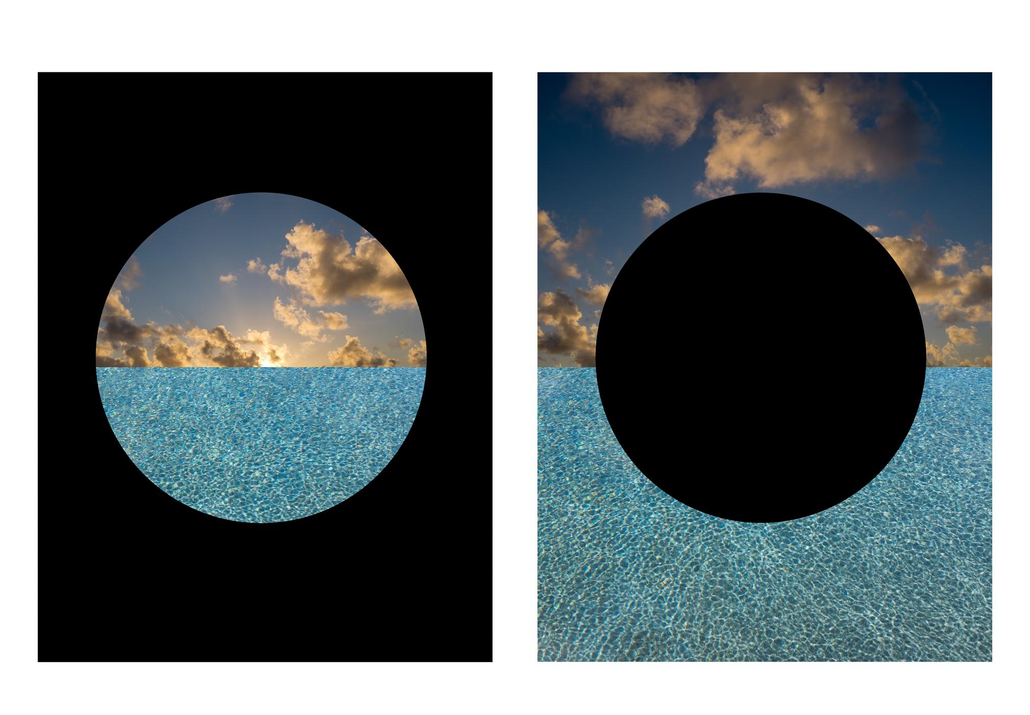 Black Circle Negative & Positive