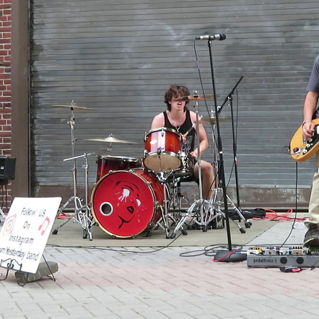 Born Yesterday playing Black Blizzard Live at Harvard Square