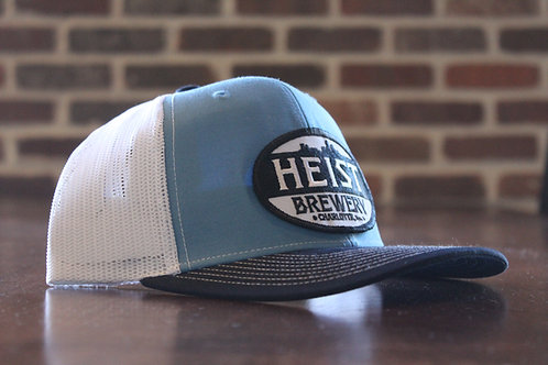 Heist Hat -White & Blue