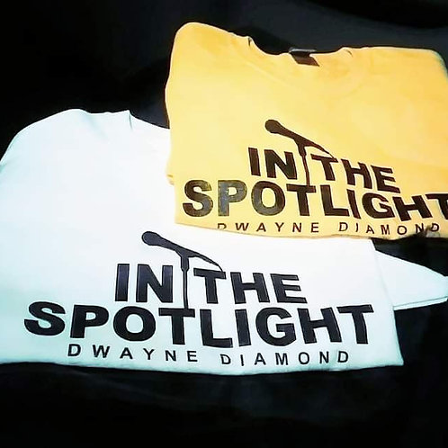 White In The Spotlight T-Shirt