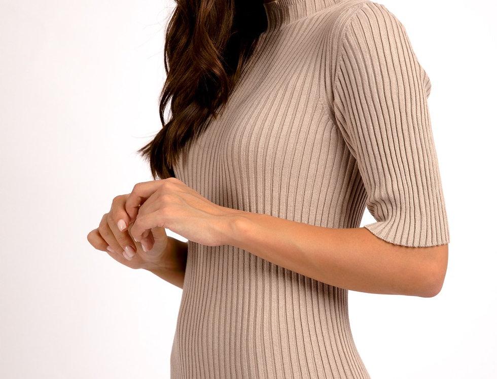 Платье 3.0 бежевый ( соя)