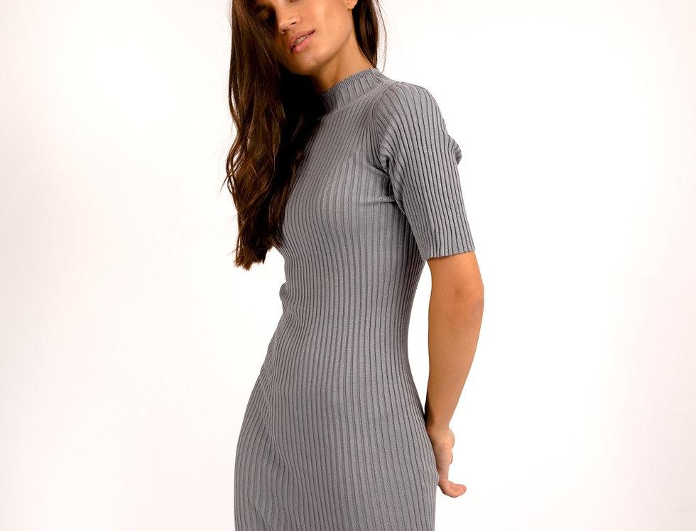 Платье 3.0 стальной
